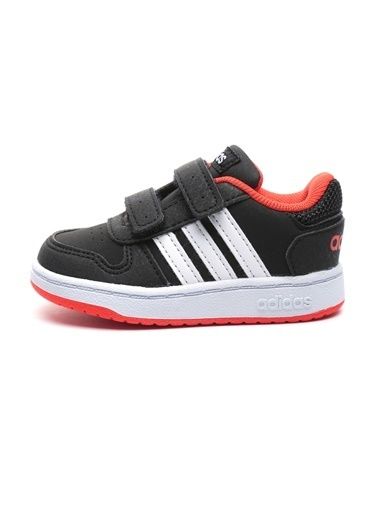 adidas Adidas Bebek Basketbol Spor Ayakkabı B75965 Hoops 2.0 Cmf I Siyah